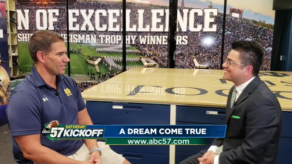 Meet Chris Bacsik: Notre Dame's 'new' head football Equipment Manager