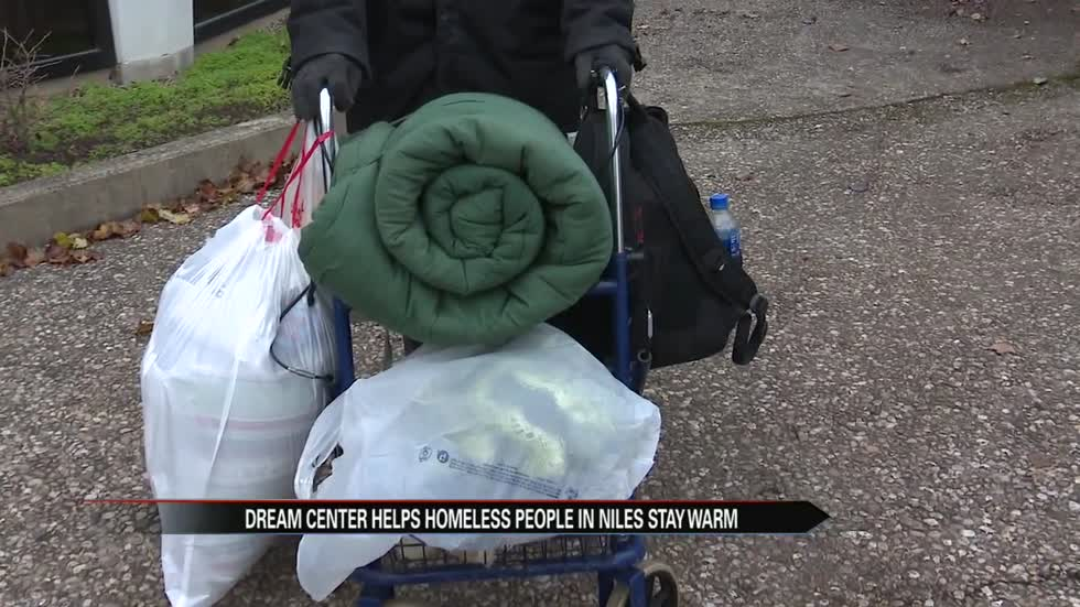 Dream Center Southwest Michigan helps Niles' homeless community stay warm.