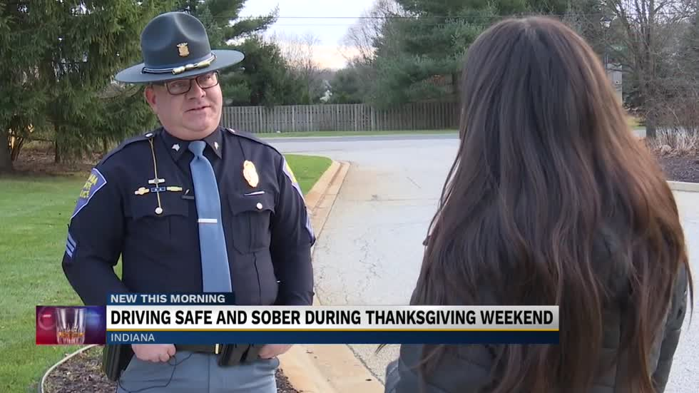 Law enforcement to amp up patrols to stop drunk drivers Thanksgiving...