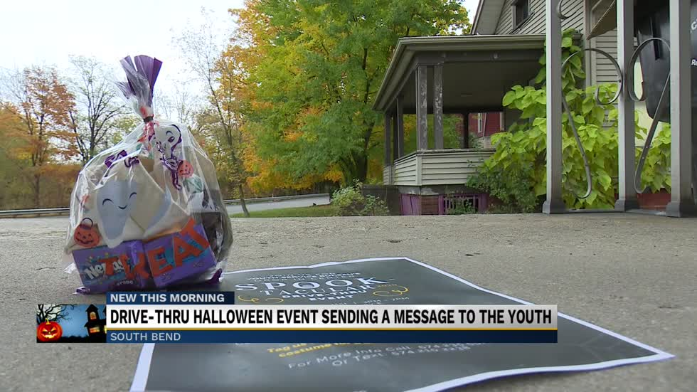 YSB Drive-thru Halloween event sending a message to the youth