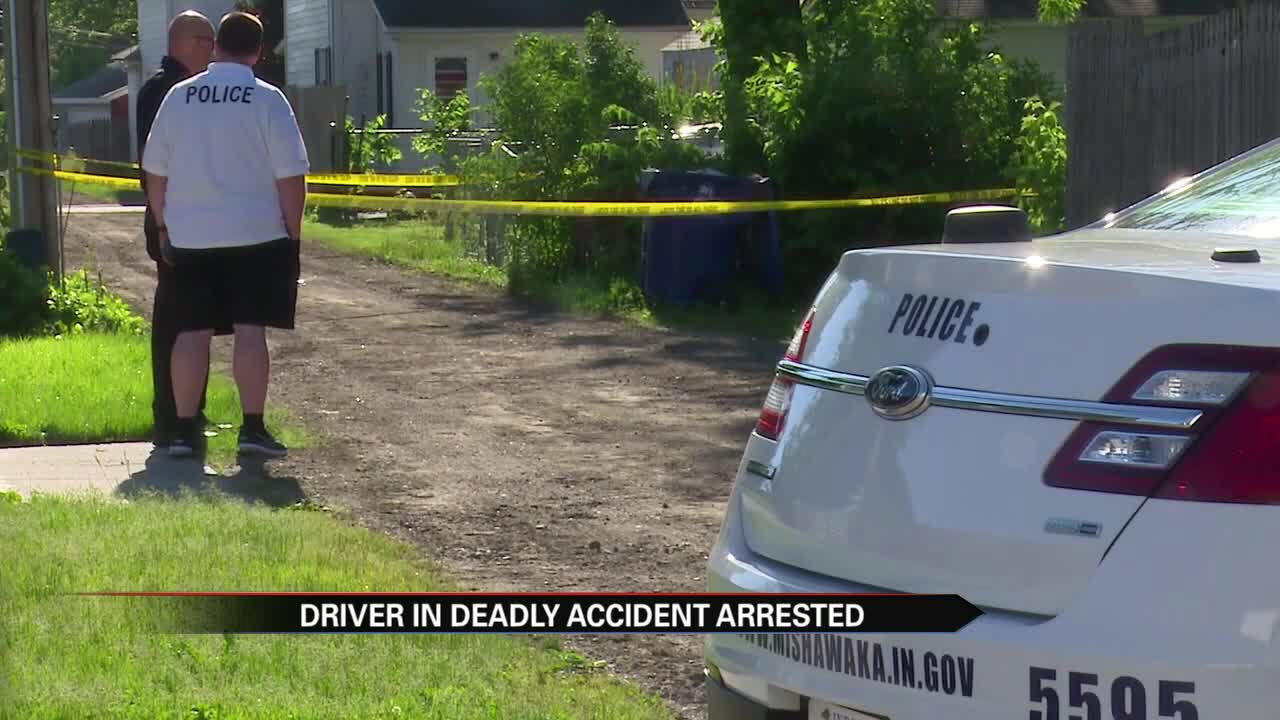 Driver charged and arrested in fatal crash that killed 7-year-old in back yard