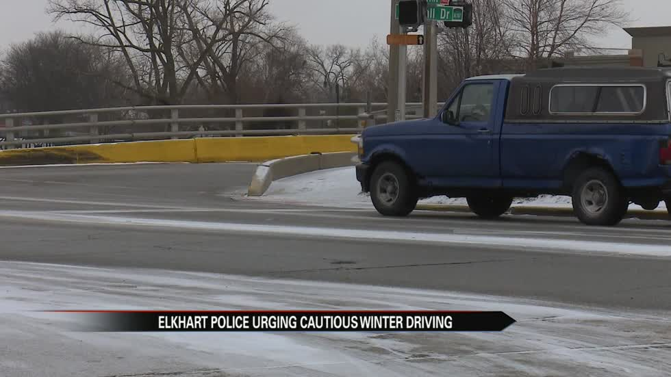 Drivers crash all over Michiana after first snowfall
