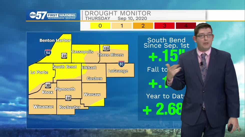 Despite rainy start to September, drought still remains for many