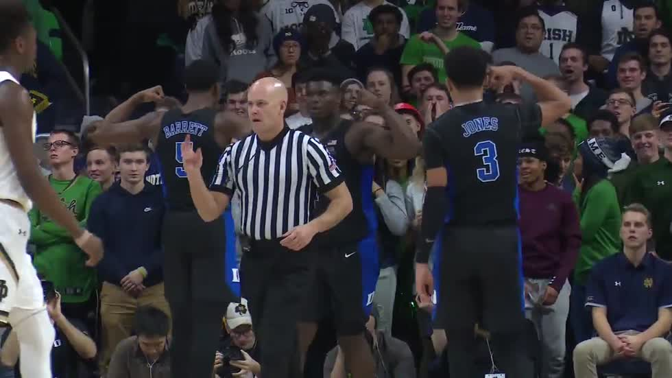 Duke starpower too much for Notre Dame to overcome