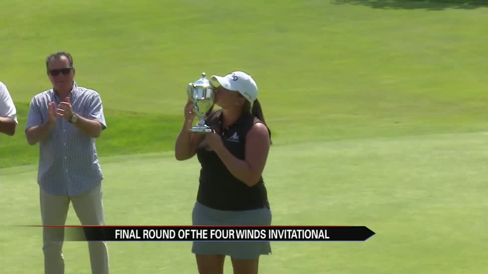 Kendall Dye fires eight under 64 to win Four Winds Invitational