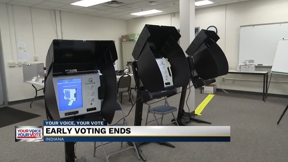 Early voting ends in St. Joseph County and Elkhart County