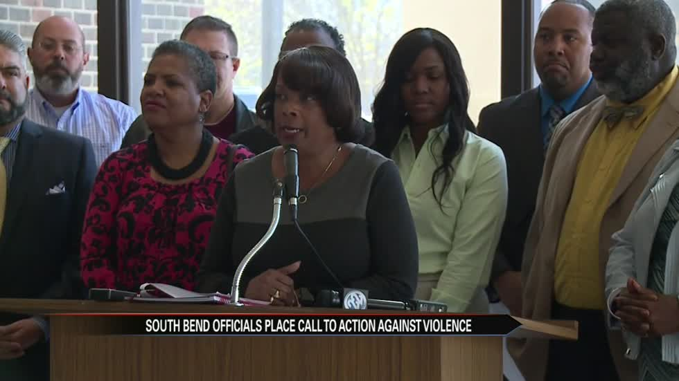 Elected officials request community assistance to stop violence