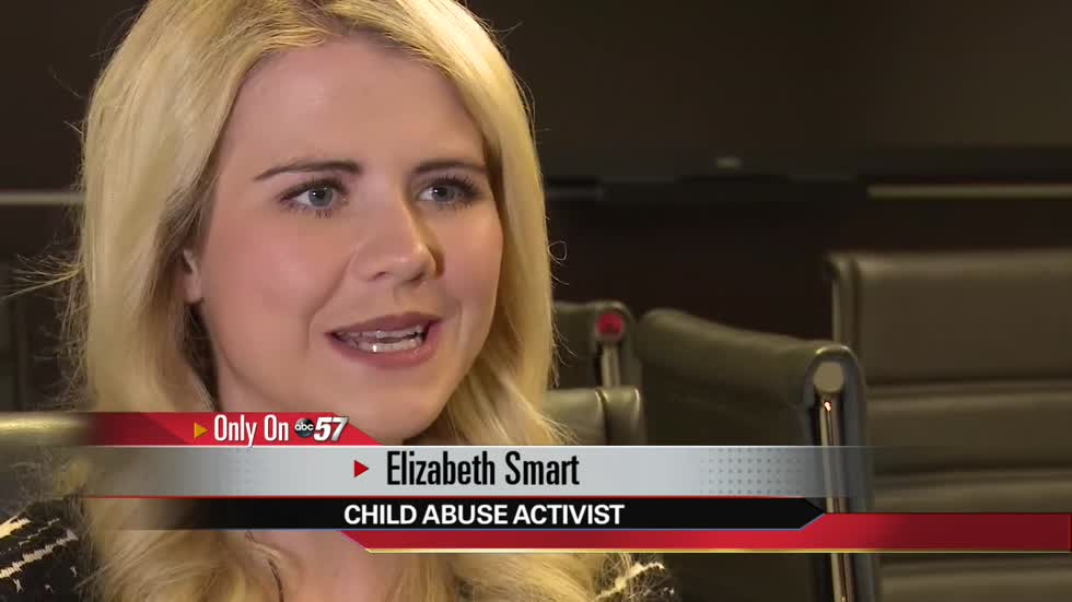 Elizabeth Smart in South Bend to share her story
