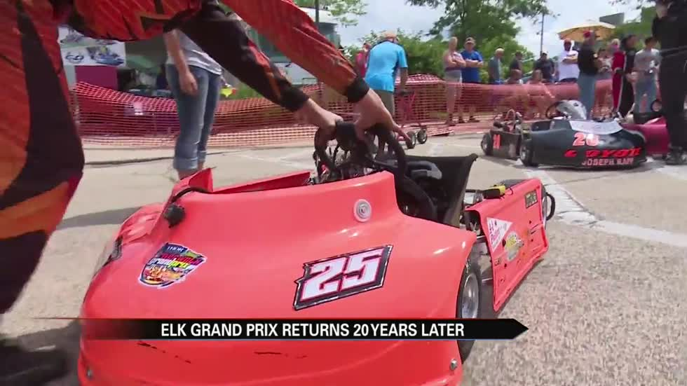 NASCAR driver joins Elkhart community for Grand Prix