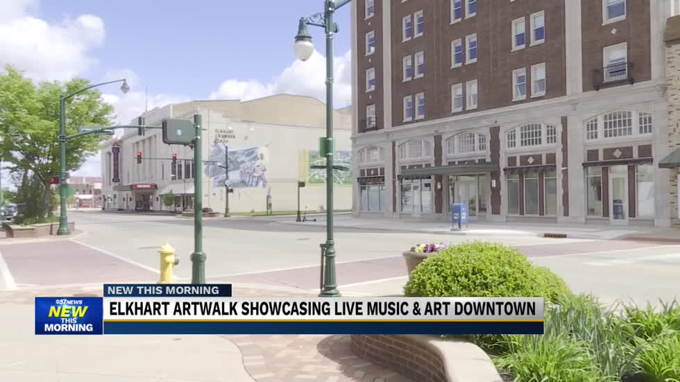 Elkhart brings back Art Walk showcasing local artists and musicians