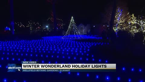 Elkhart Center for Hospice Care hosts holiday lights event