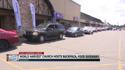 Prep for School continues in Elkhart with Backpack Giveaway