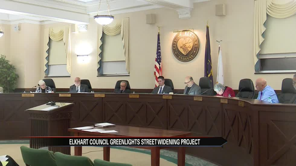 Elkhart City Council green lights street widening project