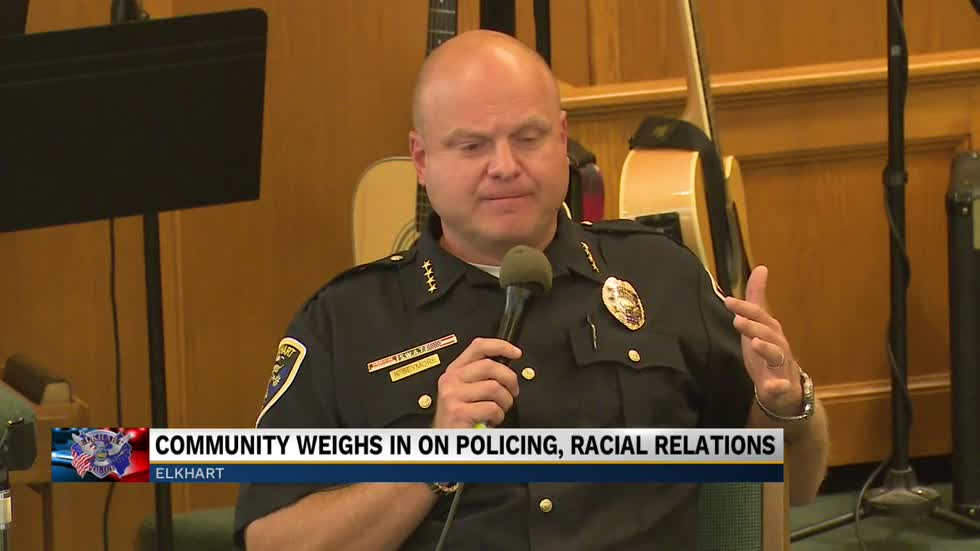 Elkhart city leaders discuss police reform and race relations