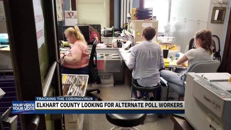 Elkhart County election officials still looking for alternate poll workers ahead of primary