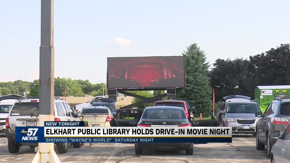 Elkhart County Public Library hosts free drive in movie