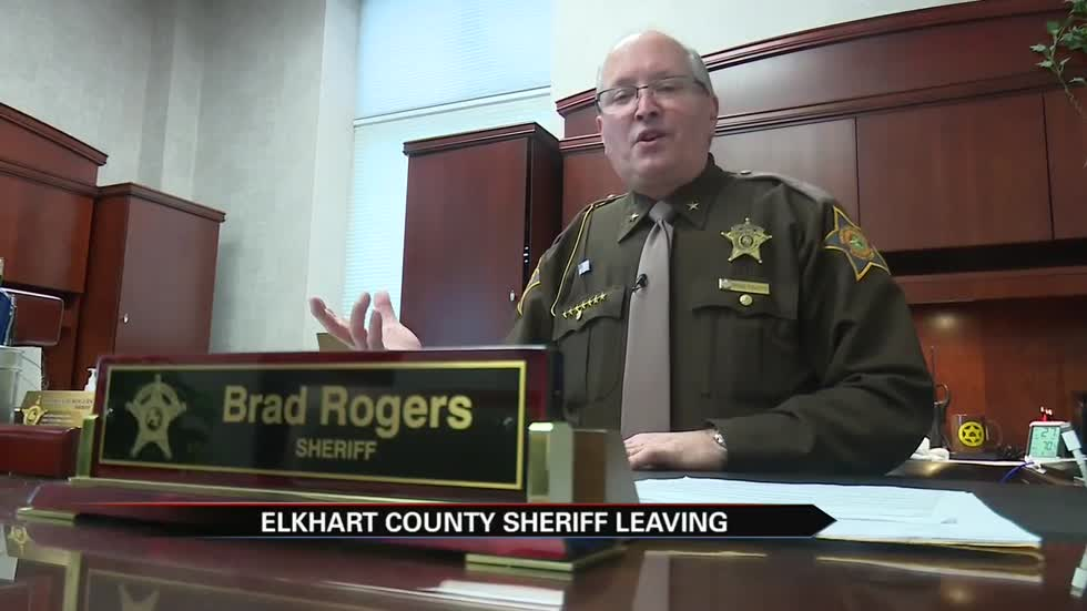 Elkhart County Sheriff Brad Rogers on his way out after 8 years
