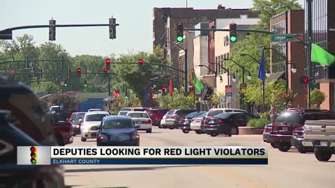 Elkhart deputies looking for stop light violators