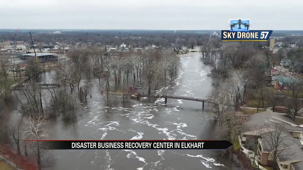 Elkhart Disaster Recovery Center opens for businesses affected by flooding