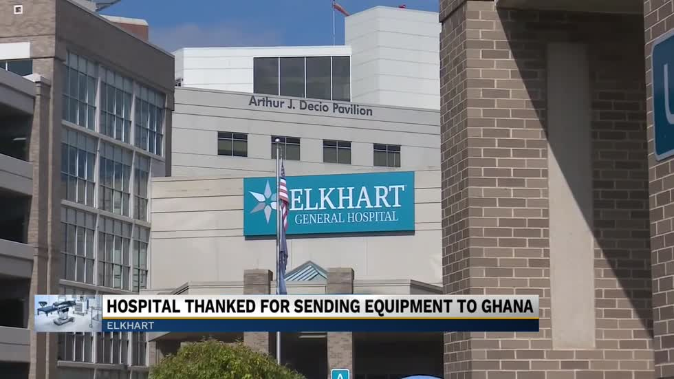 Elkhart General Hospital and Beacon Health donate equipment to hospital in Ghana