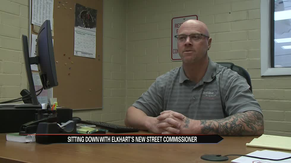 Elkhart has a new Street Commissioner