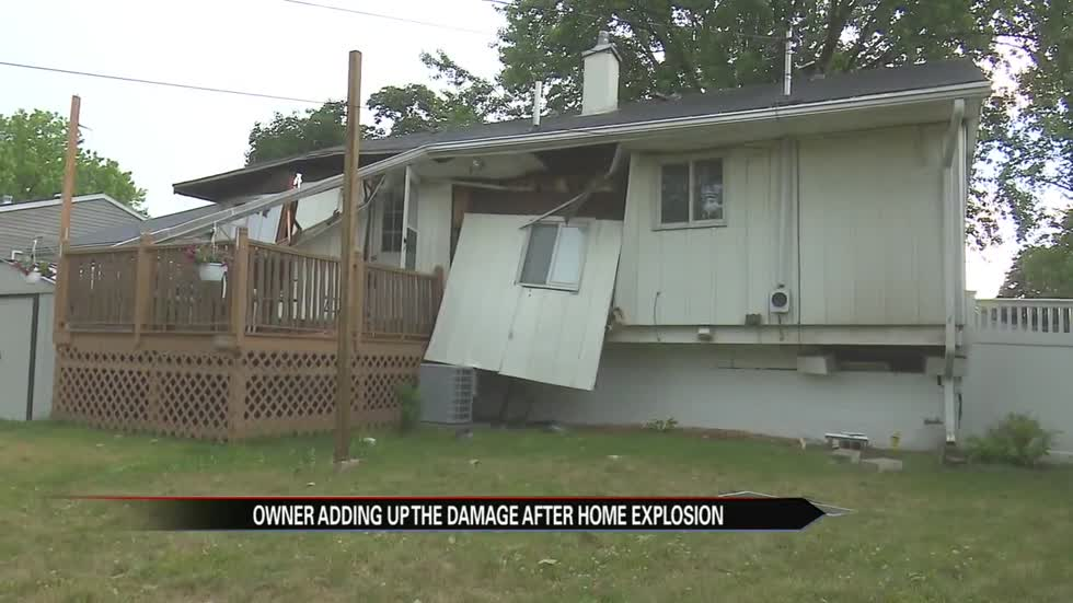 Elkhart home explodes, now homeowners are grateful to be alive