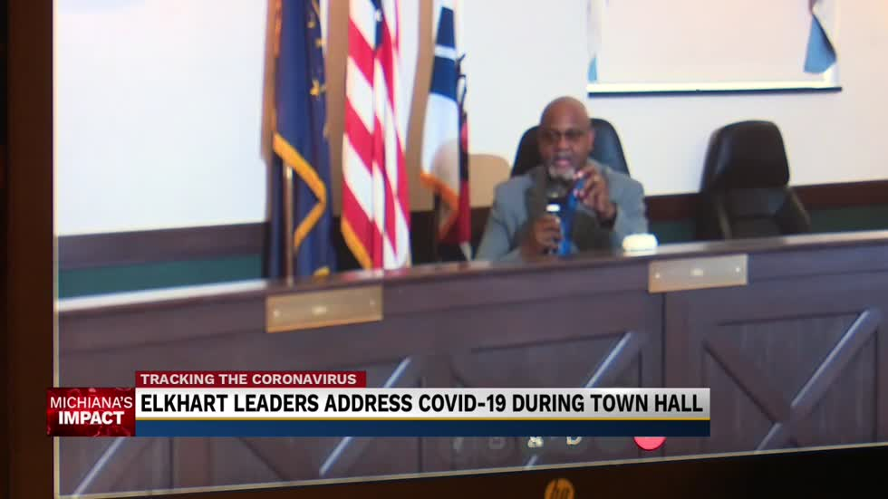 Elkhart leaders respond to Coronavirus case spike in virtual town hall