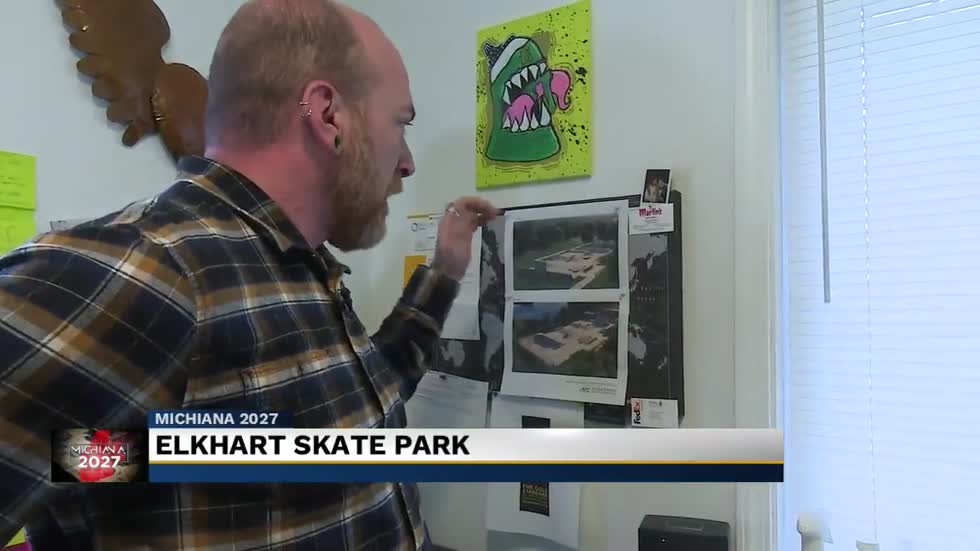 Elkhart man working to open skate park