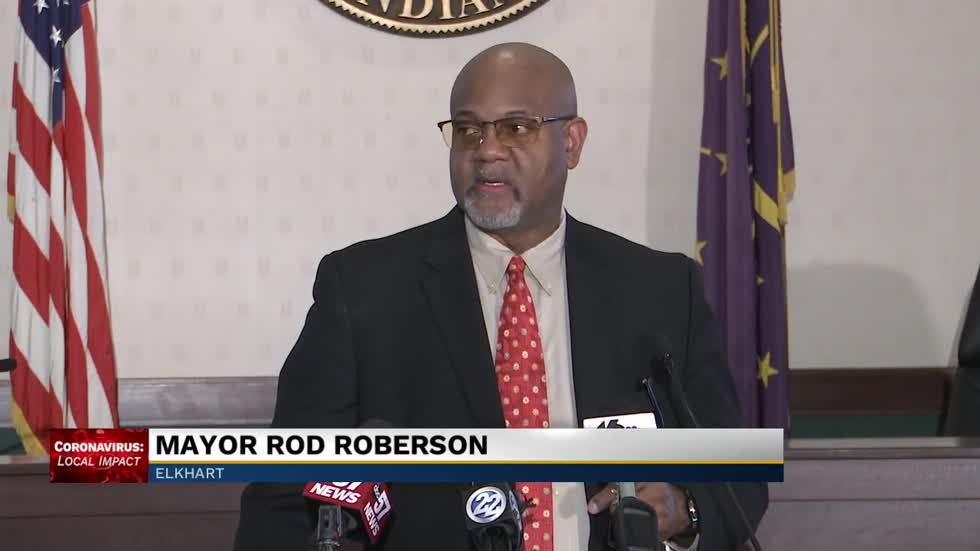 Elkhart Mayor Rod Roberson restricts access to public buildings