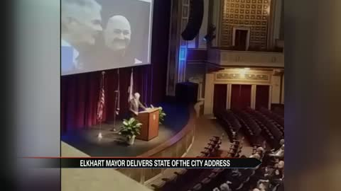 Elkhart Mayor Tim Neese delivers fourth State of the City address