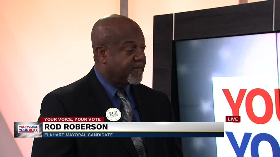 Elkhart mayoral candidate Rod Roberson discusses campaign