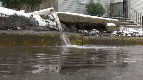 Elkhart neighborhood still pumping out floodwater two weeks later
