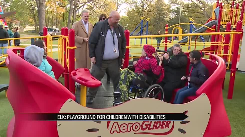 Elkhart opens area's first inclusive public playground
