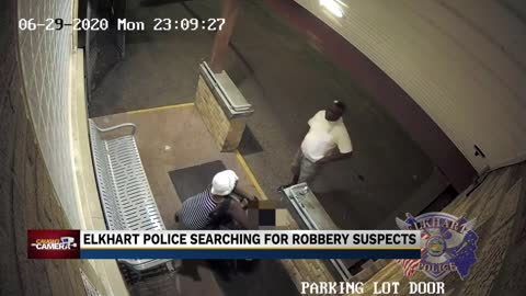 Elkhart PD searching for suspects who beat, robbed man in wheelchair