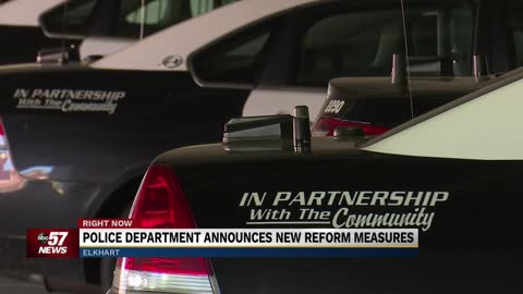 Elkhart police give update on outside review of department, changes ahead