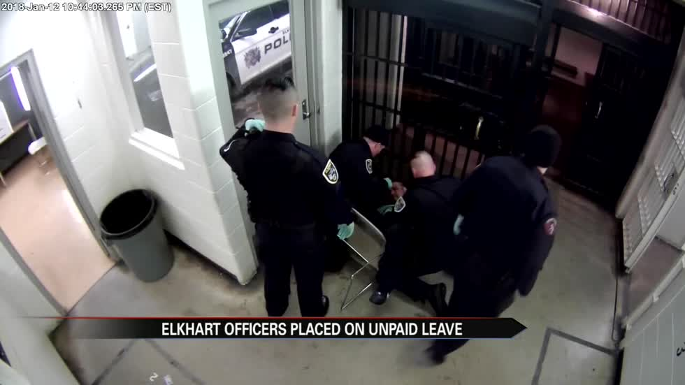 Federally indicted Elkhart Police officers placed on unpaid leave