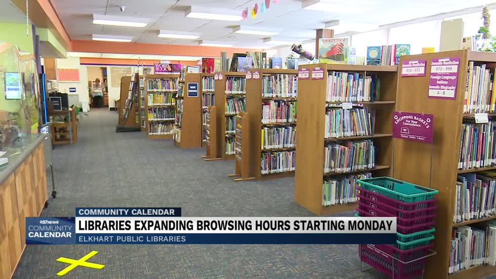 Elkhart Public Libraries expanding operation hours