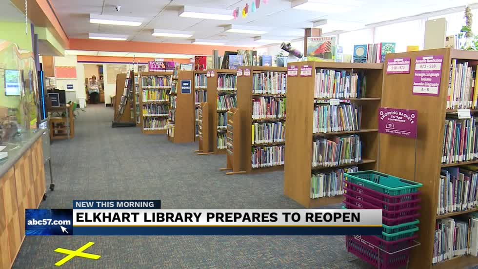 Elkhart Public Library plans to reopen Monday