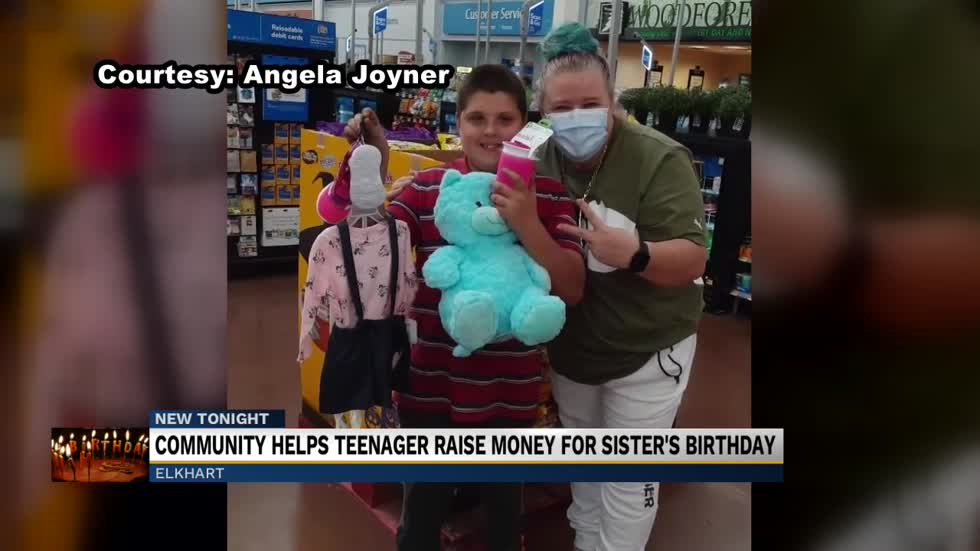 Elkhart teen raises almost $5,000 for sister's first birthday