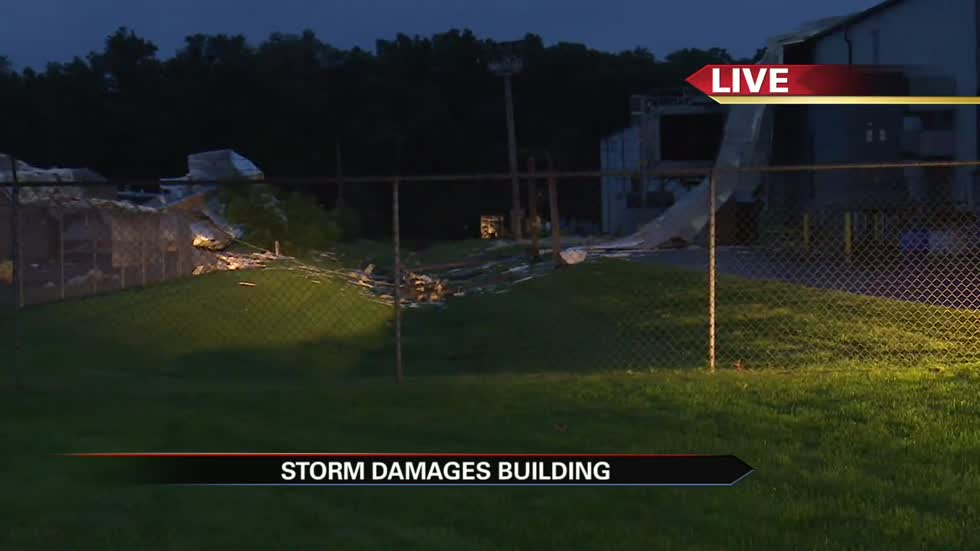 Storm damage reported in Elkhart
