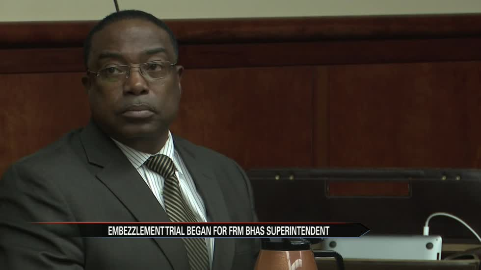 Embezzlement trial for former BH superintendent begins