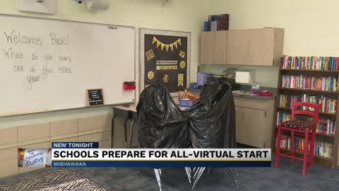 Emmons Elementary preps for virtual start to school year