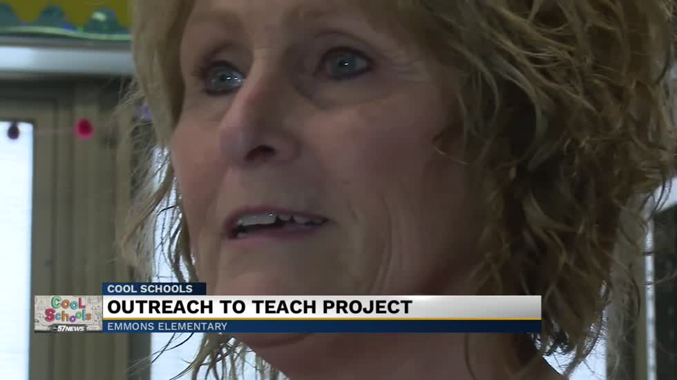 Cool Schools: Emmons Elementary School wins Outreach to Teach service project
