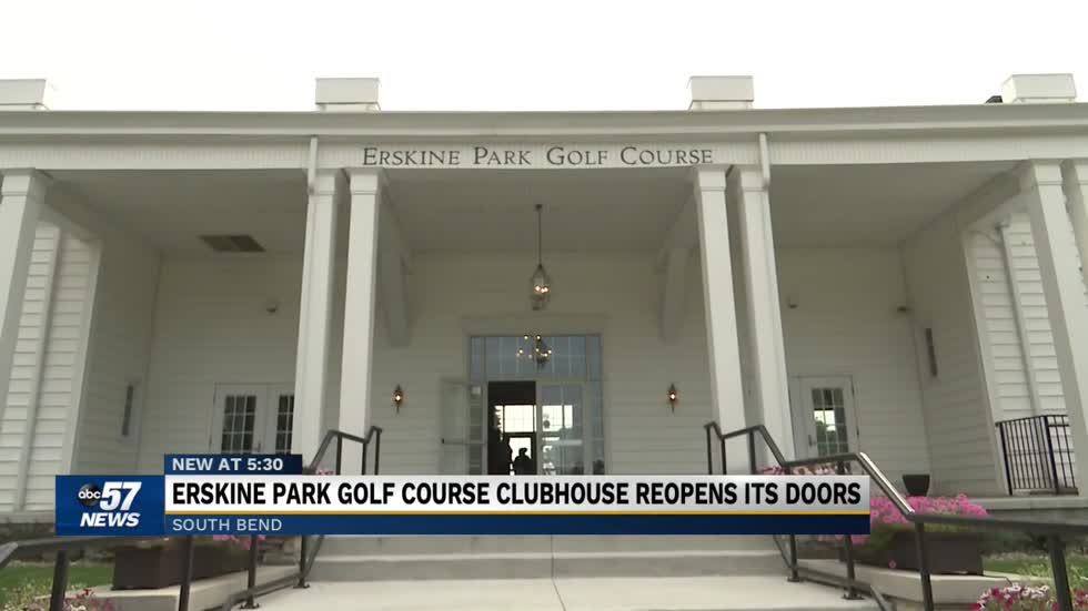 Erskine Park Golf Course Clubhouse reopens in South Bend