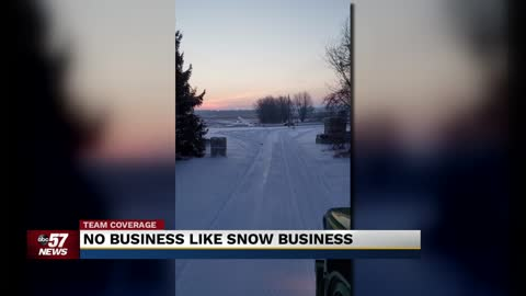 Even with a snowy forecast, businesses who need it suffer 2