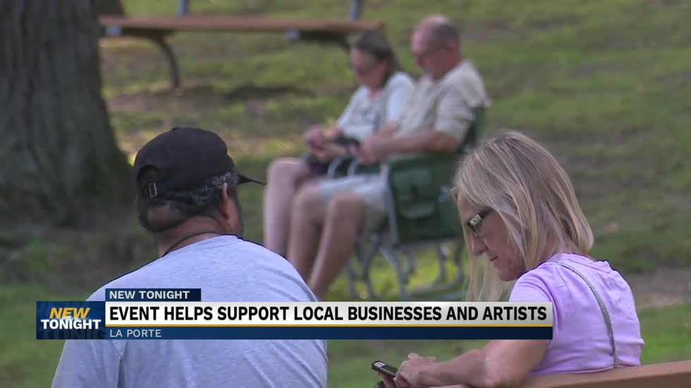 Event helps support local businesses and artists