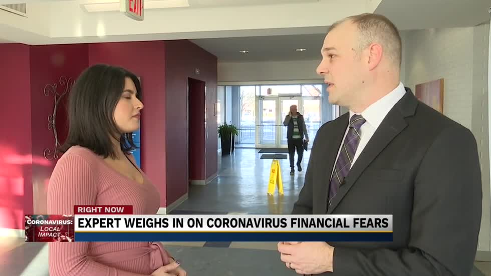 Local expert says not to panic as Coronavirus fears tumble stock market