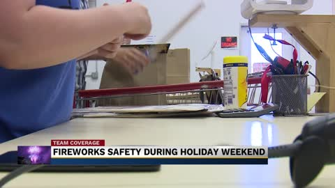 Experts warn of weather dangers for fireworks this week