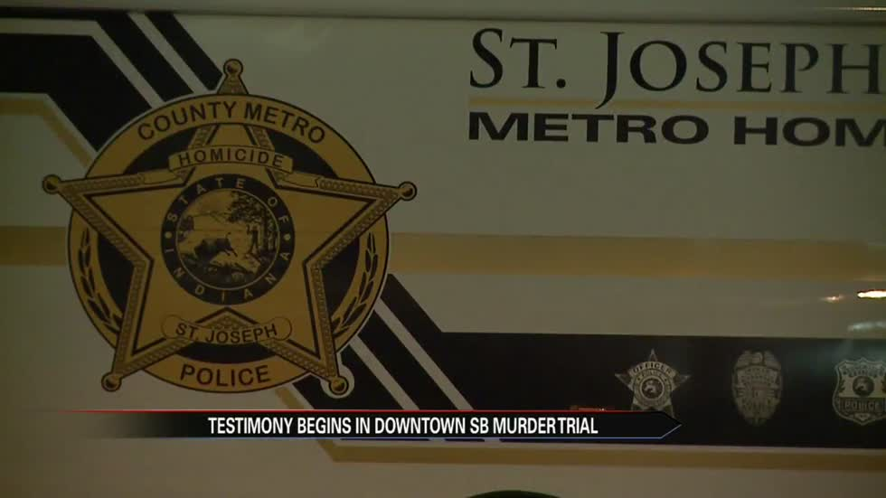 Trial underway for man accused of downtown South Bend murder