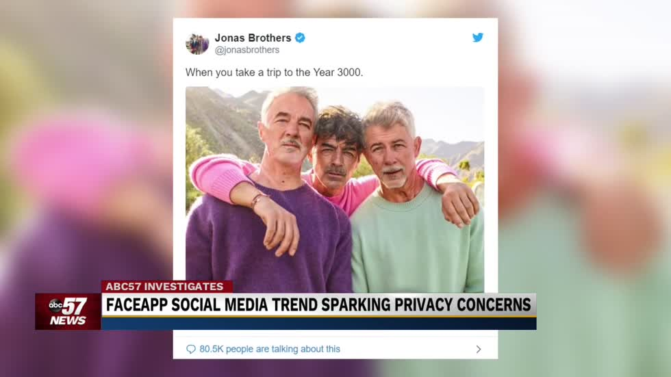 Is FaceApp putting your privacy at risk? A local expert says not really